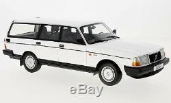 Wonderful BOS-modelcar VOLVO 240 GL WAGON 1989 white scale 1/18