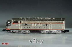 Z Scale Märklin Z 8189 50 year Annv California Zephyr Silverplate Train Set LN